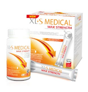 XLS Medical Max Strength cashback :  €10 terugbetaald