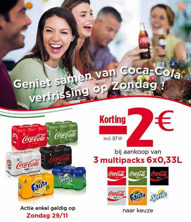 Coca Cola Sunday Only Offer €2 Terugbetaald cashback op myShopi