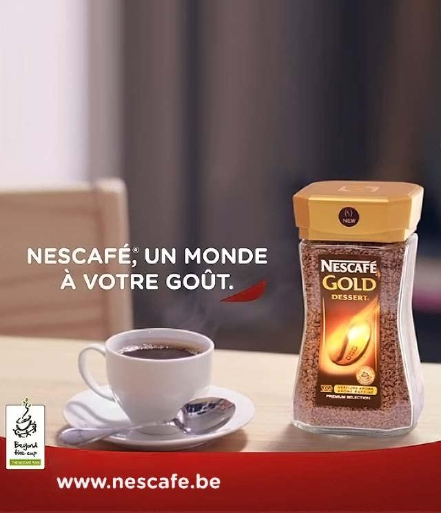 Cashback NESCAFÉ® Gold Dessert Réduction 2€ sur myShopi