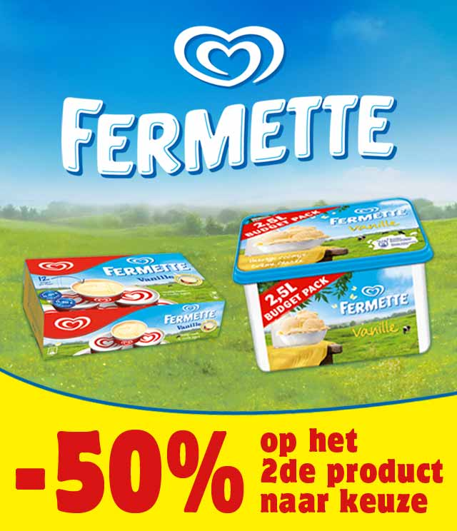 Fermette 2de aan halve prijs cashback op myShopi