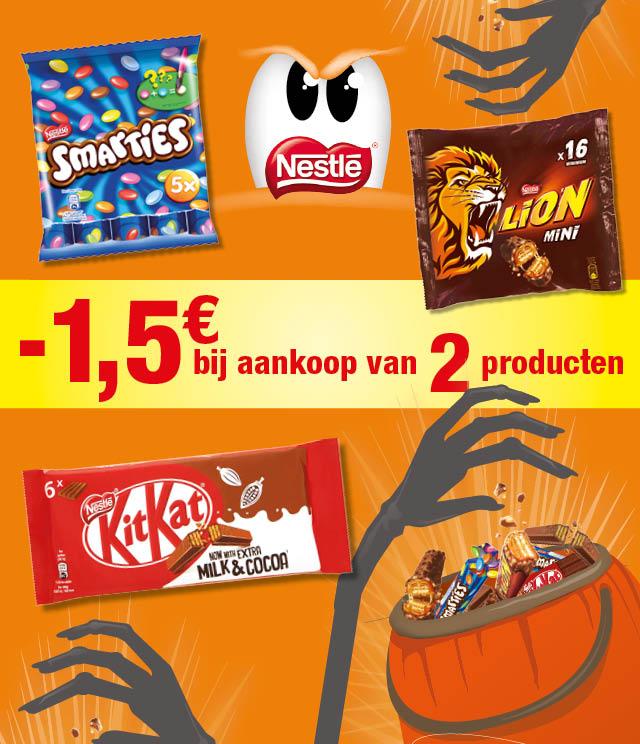 NESTLÉ  Chocolade  €1,5 terugbetaald cashback op myShopi