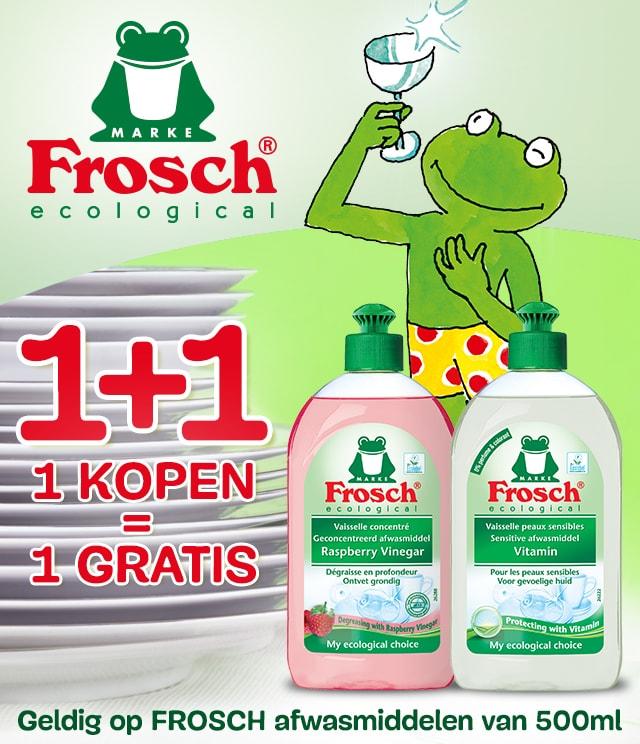 Frosch afwasmiddel 1+1 Gratis cashback op myShopi
