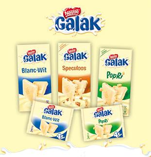 Galak chocoladetabletten €1 terugbetaald