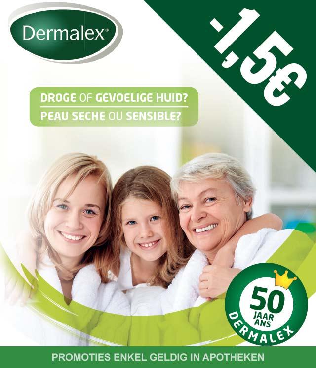 Dermalex - Droge of gevoelige huid 1,50€ Terugbetaald cashback op myShopi