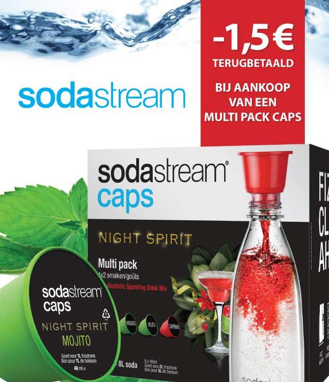 Sodastream Caps 1,50€ Terugbetaald cashback op myShopi