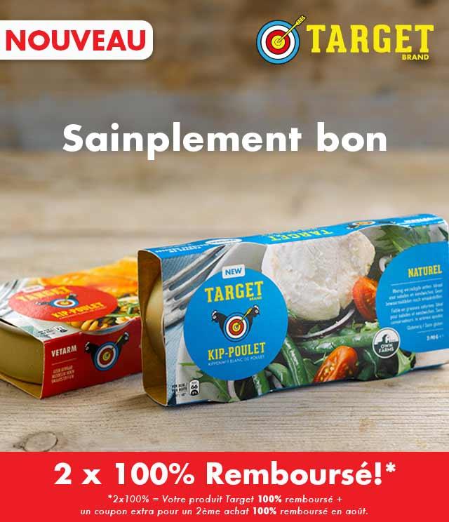 Cashback Target Poulet 2x100% Remboursé sur myShopi