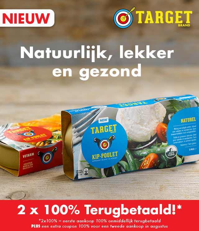 Target Kip 2x100% Terugbetaald cashback op myShopi