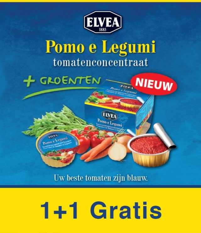 Tomaten concentraat met groenten 1 + 1 Gratis cashback op myShopi