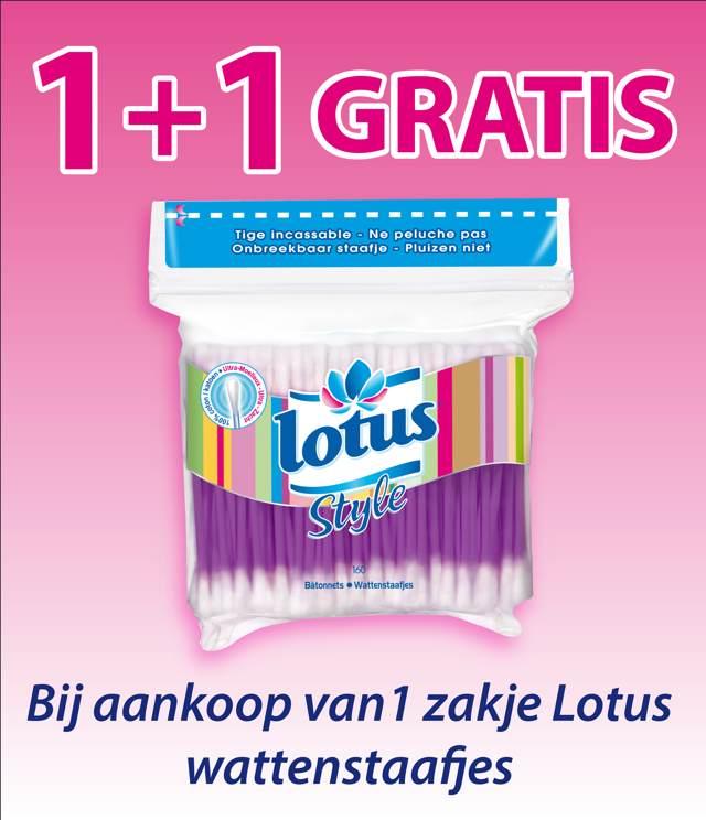Lotus wattenstaafjes 1 + 1 Gratis cashback op myShopi