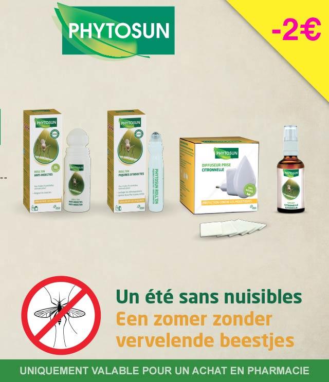 Cashback Phytosun - Anti-insectes 2€ Remboursés sur myShopi