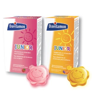 Davitamon Junior - Vitamines 2€ Terugbetaald cashback op myShopi