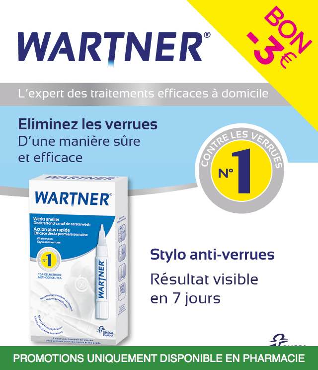 Cashback Wartner - Verrues 3€ Remboursés sur myShopi
