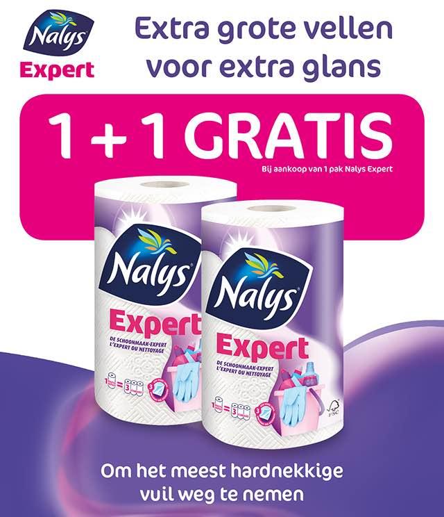 Nalys/Lotus Expert Keukenpapier 1+1 Gratis cashback op myShopi