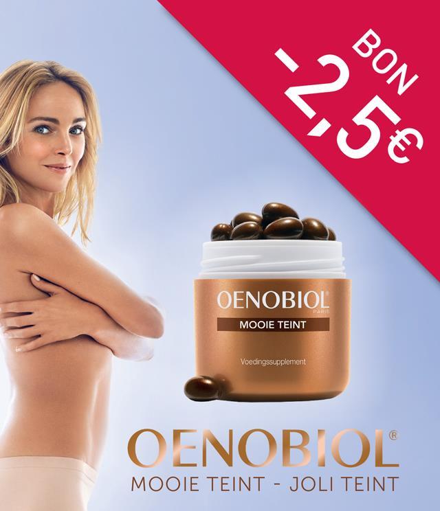 Cashback Oenobiol - joli teint 2,5 € Remboursés sur myShopi