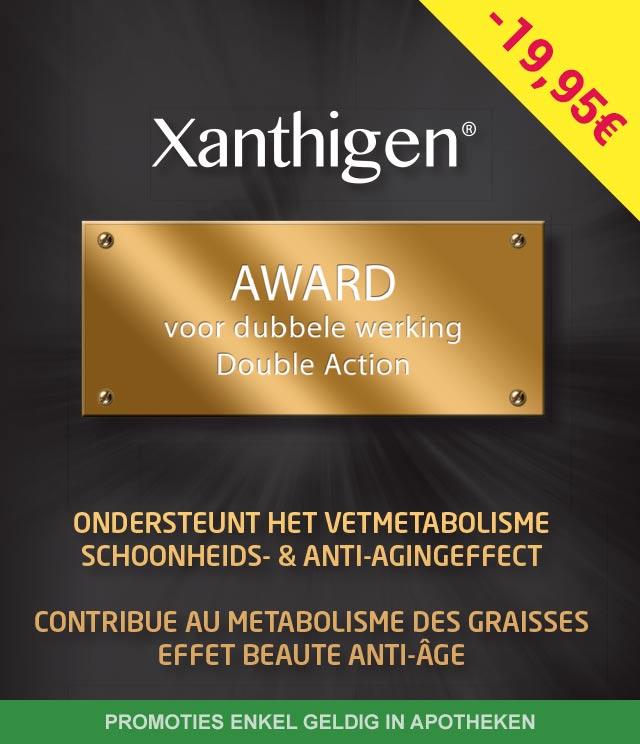 Xanthigen - Schoonheids- & anti-agingeffect 19,95€ Terugbetaald cashback op myShopi
