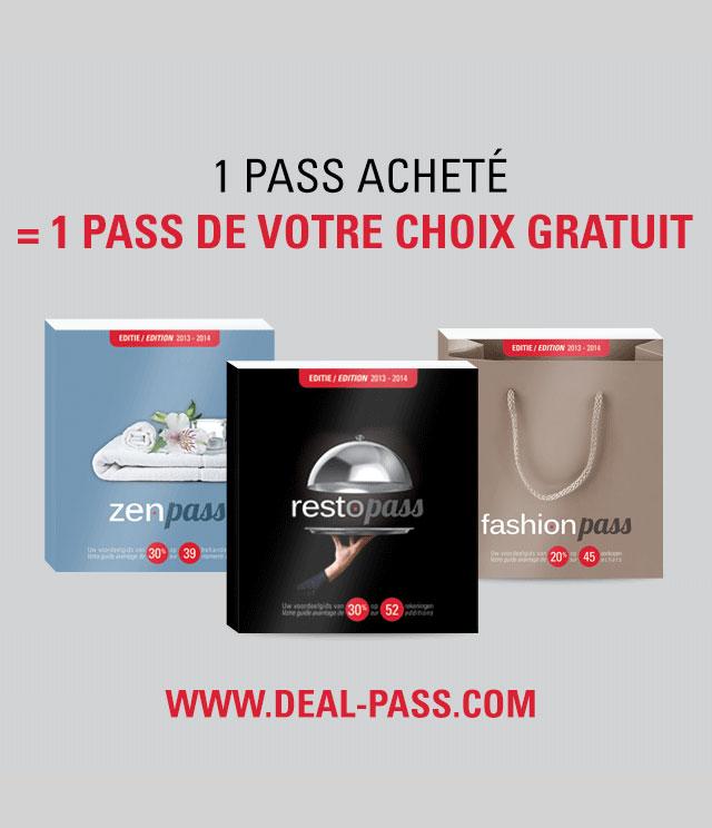 Cashback Deal Pass 1 + 1 Gratuit sur myShopi