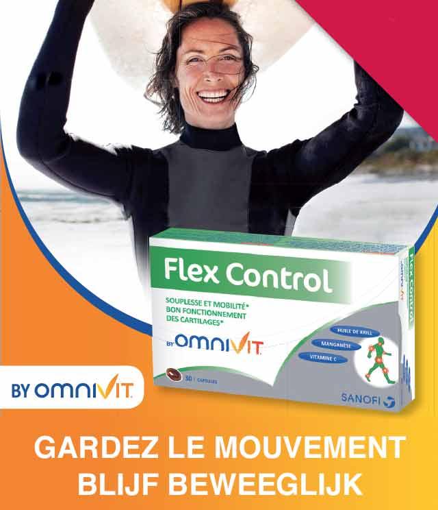Flex Control Omnivit 2€ Terugbetaald cashback op myShopi