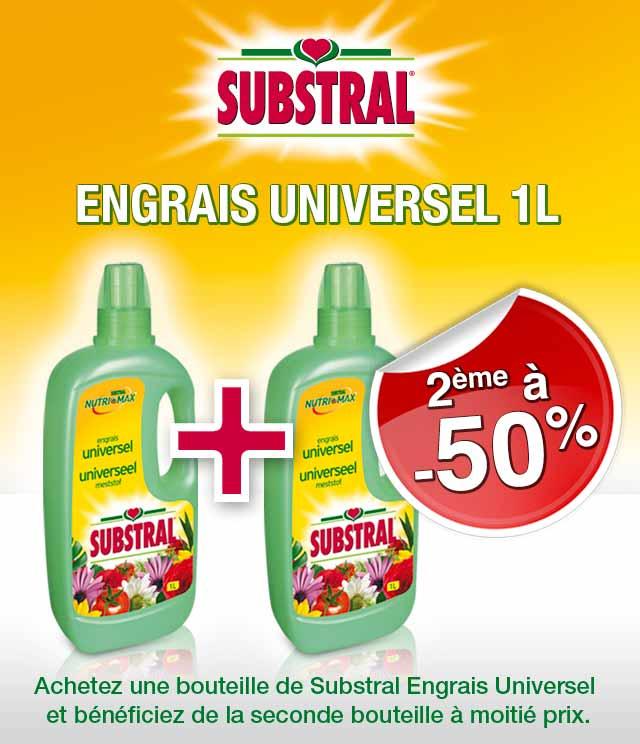 Cashback Substral Engrais Universel 2ème à 50% sur myShopi