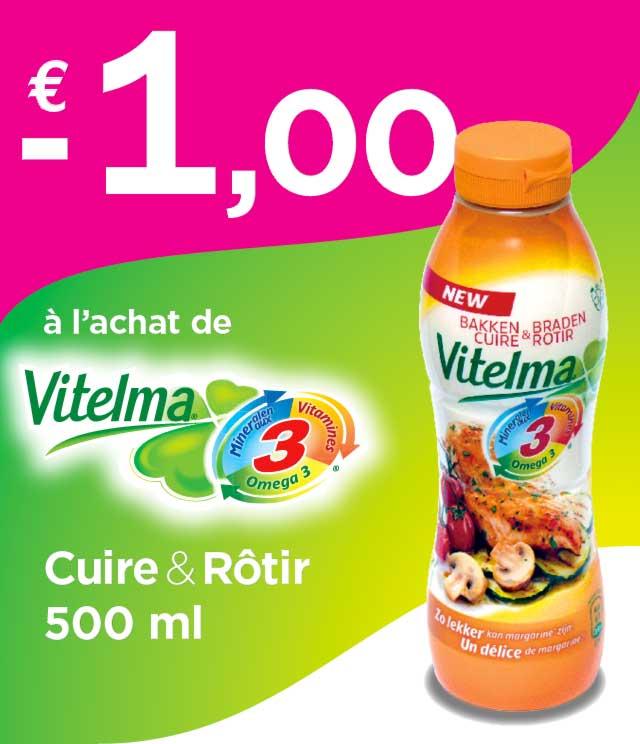 Cashback Vitelma Cuire & Rôtir 1€ Remboursé sur myShopi