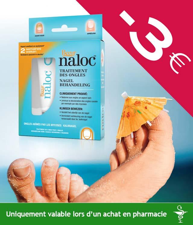 Cashback Naloc Mycose des ongles 3€ Remboursés sur myShopi