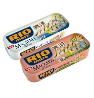 Rio Mare gegrilde makreelfilets 1+1 Gratis cashback op myShopi