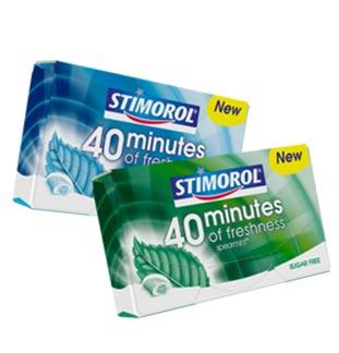 Cashback Stimorol 40 Minutes 1 + 1 Gratuit sur myShopi