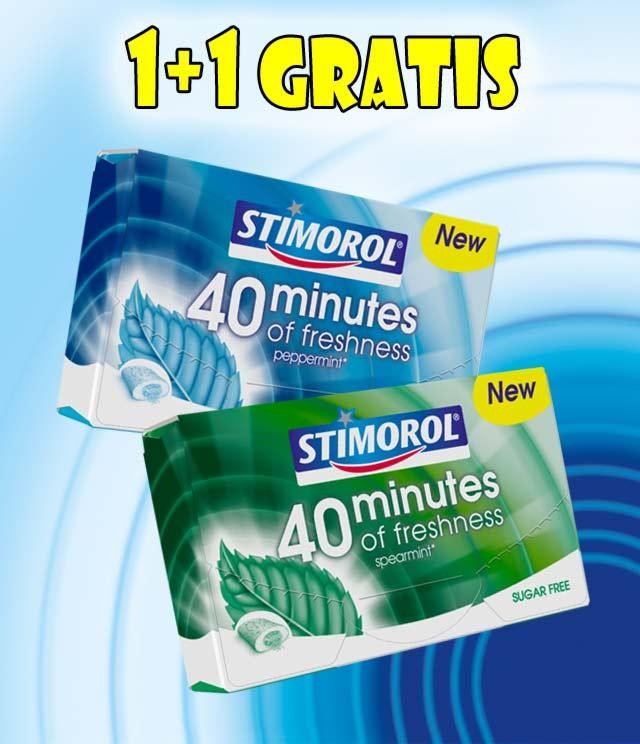 Stimorol 40 Minutes 1 + 1 Gratis cashback op myShopi