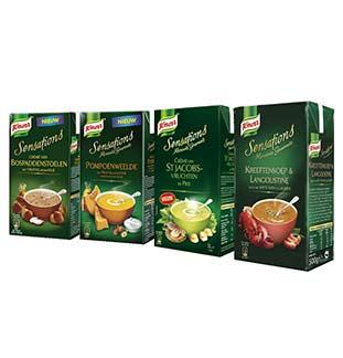 Knorr Sensations Soepen 1L 1 + 1 Gratis cashback op myShopi