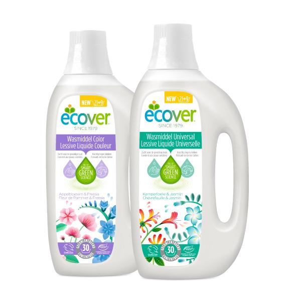 Ecover Vloeibare Wasmiddelen cashback : 30% terugbetaald