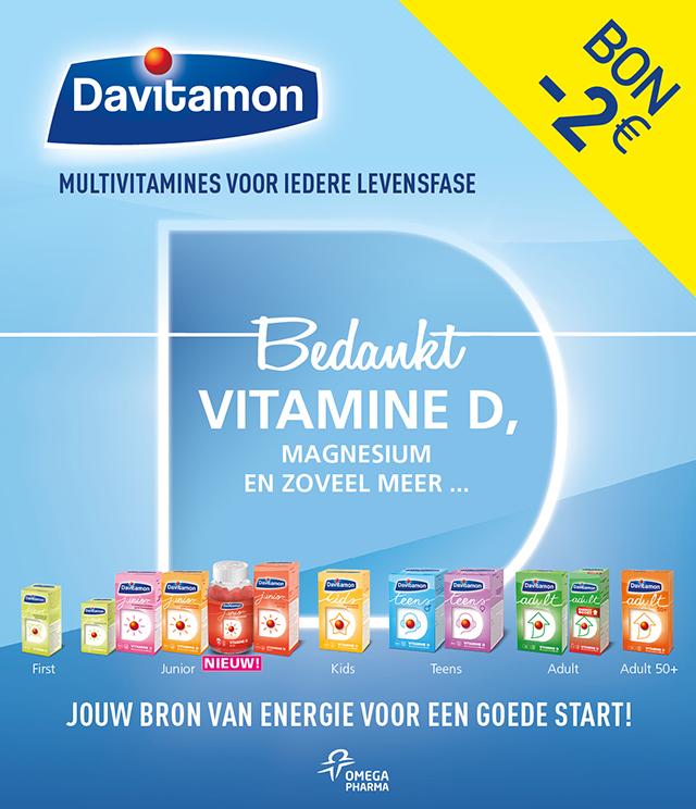 Davitamon Multivitamine 2€ Terugbetaald cashback op myShopi