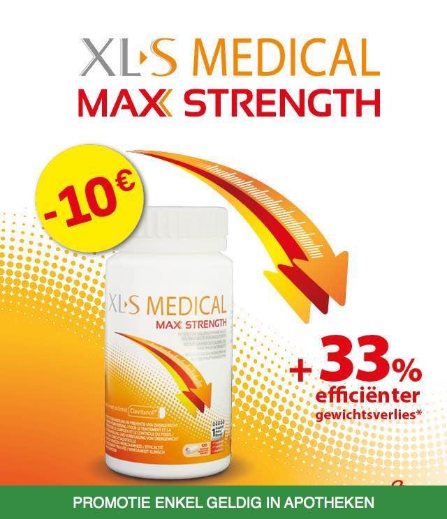 XL-S Medical Max Strenght 10€ Terugbetaald cashback op myShopi