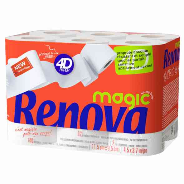 Cashback Renova Magic 4D : 1+1 Gratuit