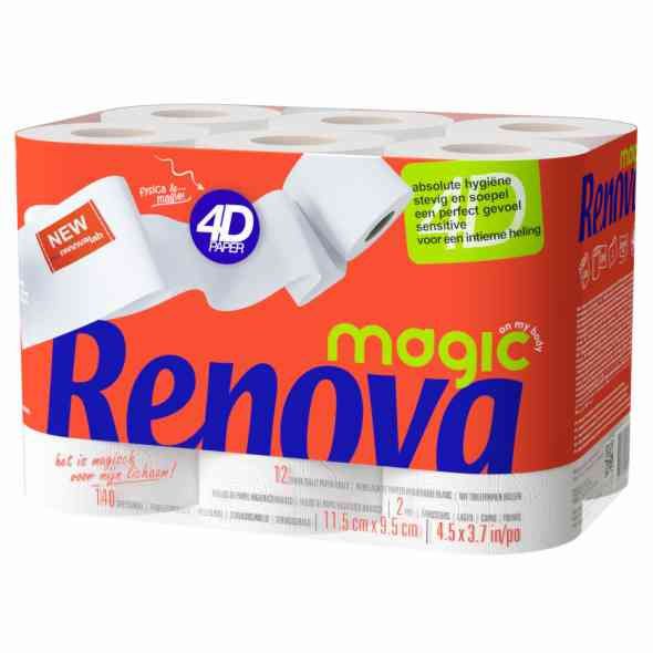 Renova Magic 4D cashback : 1+1 Gratis