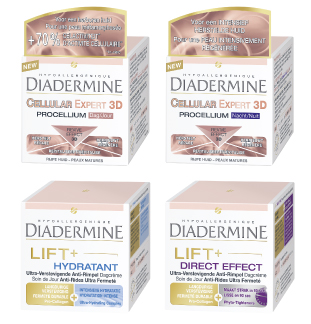 Diadermine Lift + of Cellular Expert 3D 5€ Terugbetaald