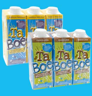 TaBoe milk by INEX 1+1 gratuit