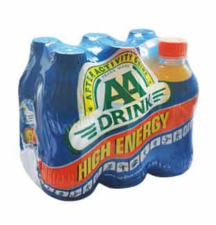 Cashback AA Drink Réduction 2,50€ sur myShopi