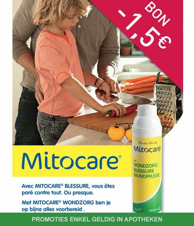 Mitocare - Wondzorg 1,50€ Terugbetaald cashback op myShopi