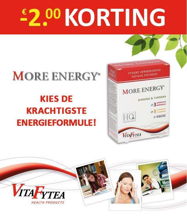 VitaFytea - Fysieke vermoeidheid< 2€ Terugbetaald cashback op myShopi