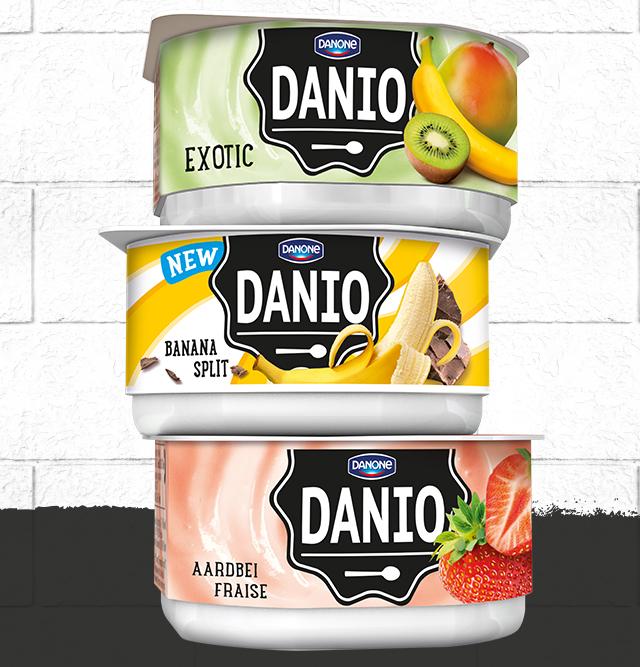 Danio 180g 1+1 gratis