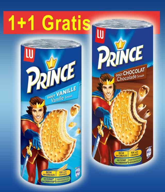 Prince 1 + 1 Gratis cashback op myShopi