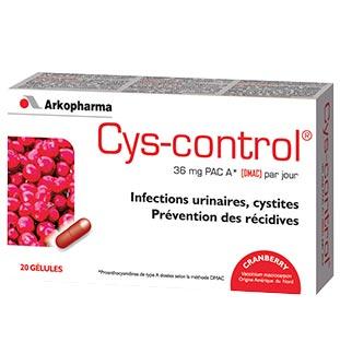 Cashback Arkopharma Cys-Control 1,50€ Remboursés sur myShopi