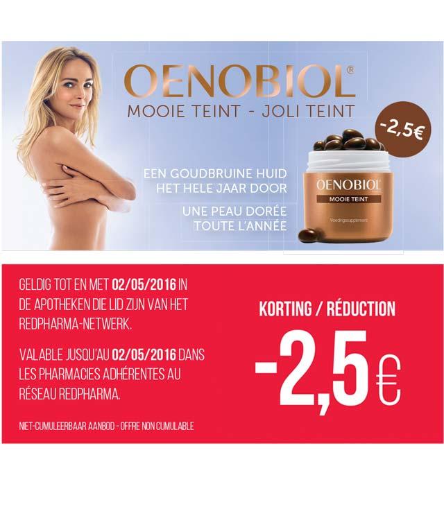 Cashback Oenobiol - joli teint 2.5 € Remboursés sur myShopi