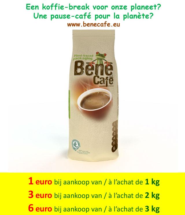 BénéCafé (bij Makro) -1€ / -3€ / -6€ cashback op myShopi
