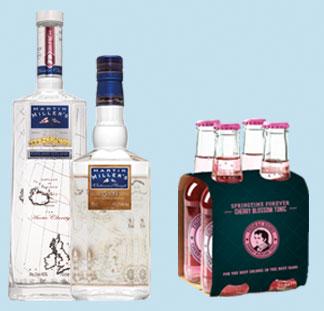 Martin Millers Gin & Thomas Henry 100% Terugbetaald ! cashback op myShopi
