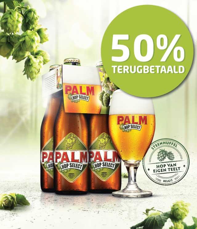 Palm Hop Select 50% Terugbetaald cashback op myShopi