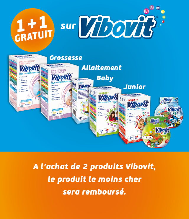 Cashback Vibovit multivitamines 1+1 Gratuit sur myShopi