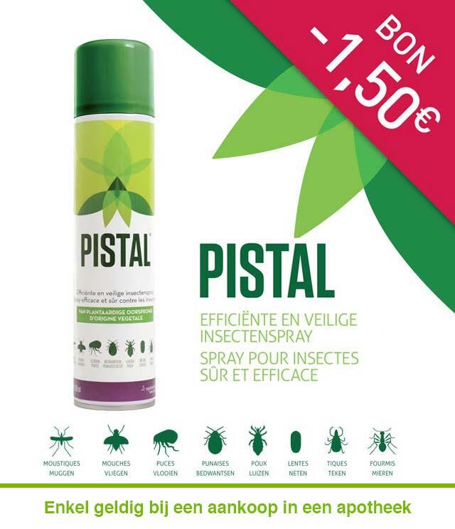 Pistal Insectenspray 1,50€ Terugbetaald cashback op myShopi