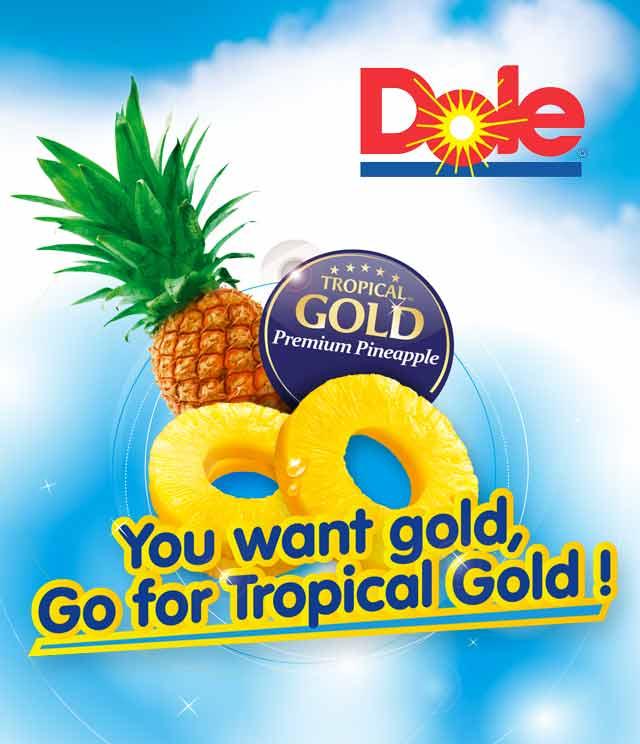 Ananas Dole Tropical Gold 1 + 1 Gratis cashback op myShopi