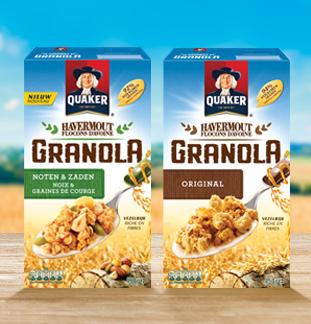 Quaker Granola 50% Remboursé