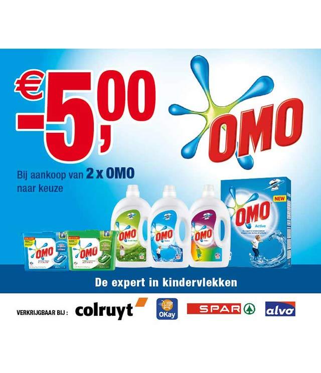 Omo Wasmiddel - De expert in kindervlekken 5€ Terugbetaald cashback op myShopi